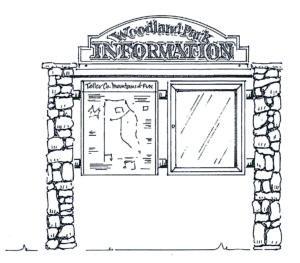 Kiosk rendering picture