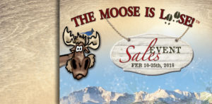 Moose is Loose Sales Event - Last Weekend @ Woodland Park Businesses | Woodland Park | Colorado | United States